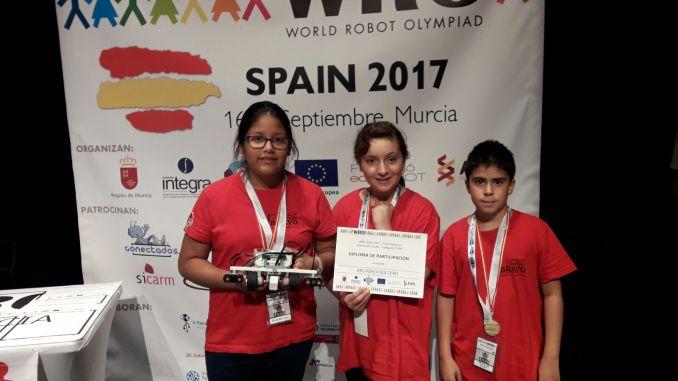 ArcaDroidEx sexto en el campeonato nacional de la World Robot Olympiad