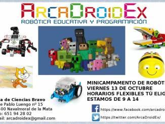 ARCADROIDEX - Minicampamento de Robótica Educativa y Programación