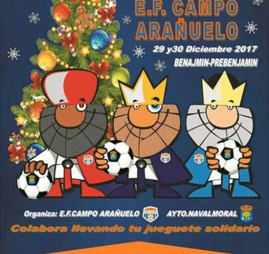 II Torneo de Reyes de fútbol-sala de base 'Juguete solidario'