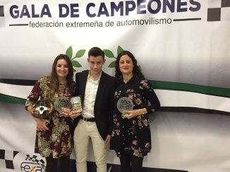 La morala Ainoa de la Osa premiada en la Gala de Campeones FEXA 2017