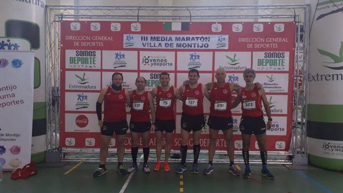 El CD Navalmaratón disputó la III Media Maratón Villa de Montijo