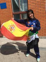 Lourdes León, del club MAE FIGHTING, se proclama campeona del mundo de Kick Boxing y subcampeona de K1 Rules en el mundial ISKA 2018 (4)