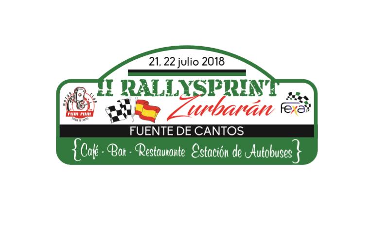 Ainoa de la Osa y Mari Márquez del Extremadura Rallye Team en el II Rallysprint Zurbarán
