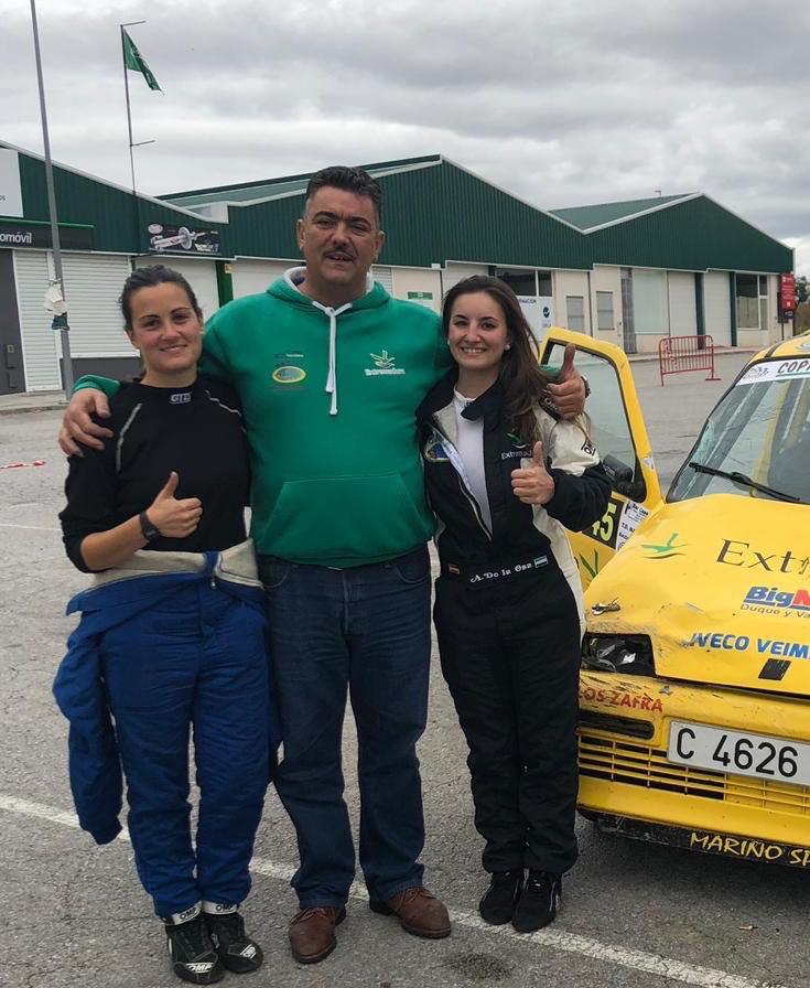 Ainoa de la Osa y MariMárquez abandonaron IV RallySprint Culebrín – Pallares