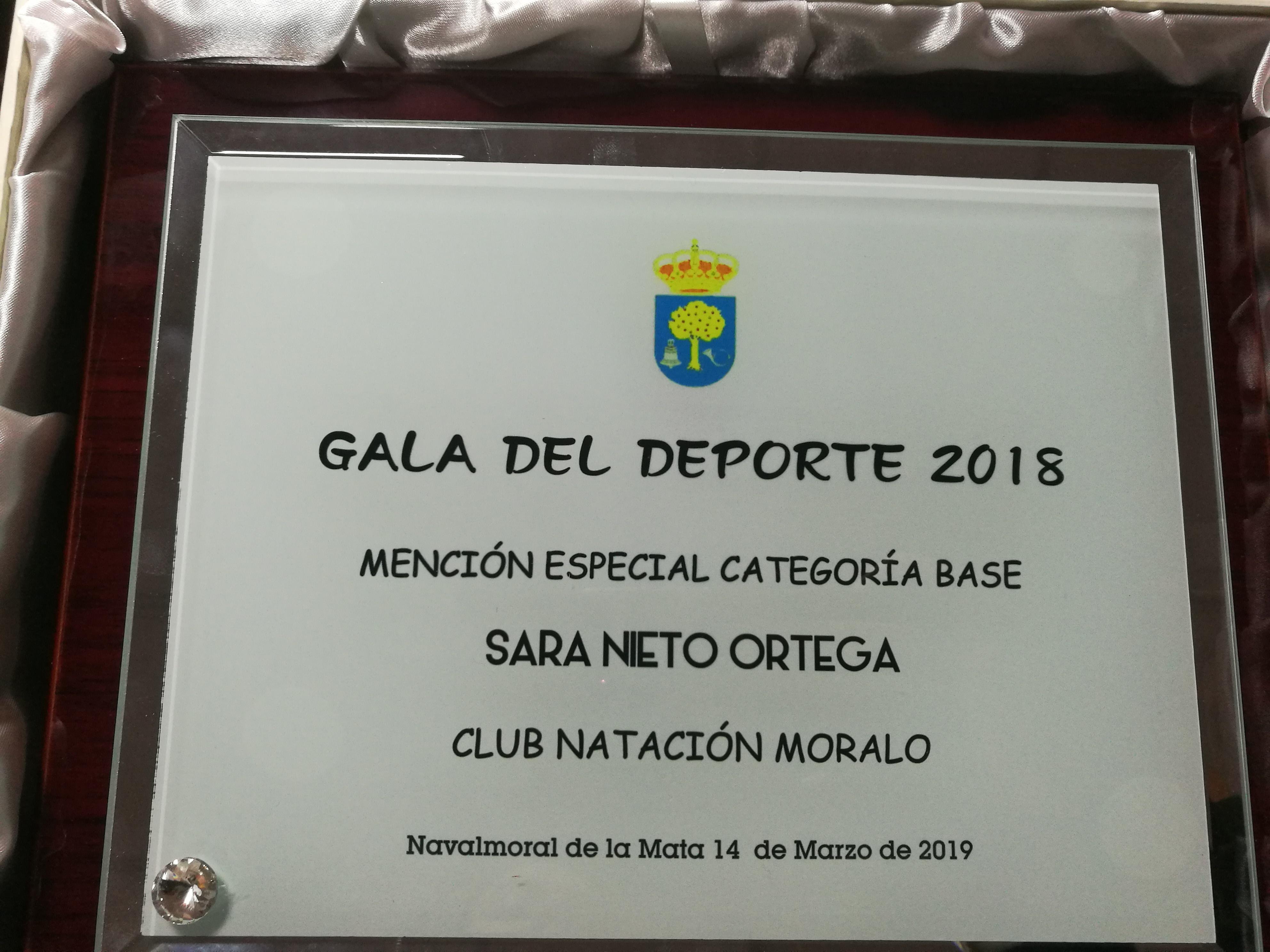 Resumen del Club Natación Moralo en la Gala del Deporte Moralo 2018
