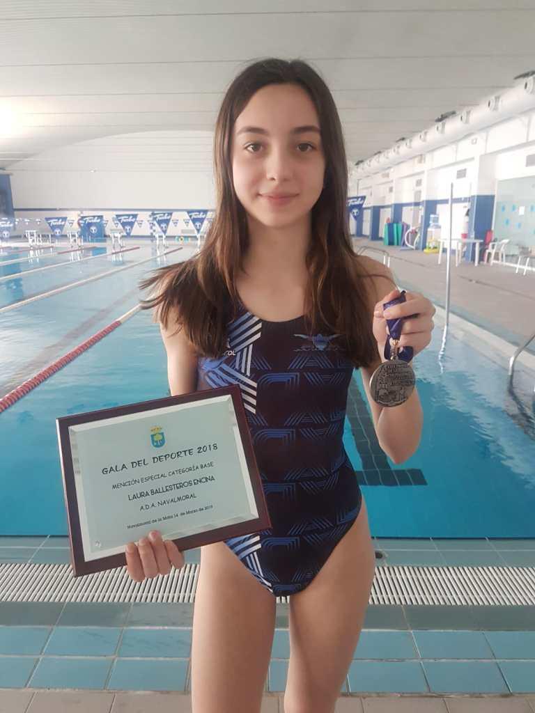 Laura Ballesteros de la plata en el Trofeo de la Cordialidad de Almendralejo