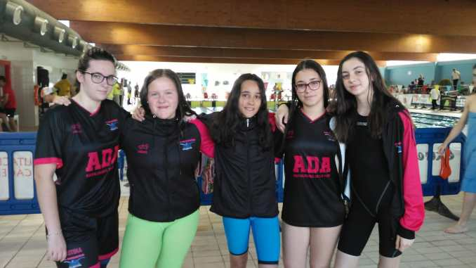 Resultados de ADA- Navalmoral en la Copa de Extremadura de clubes de Natación en Badajoz