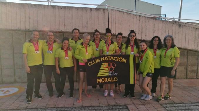 Resultados del Campeonato de Extremadura Máster del Club Natación Moralo