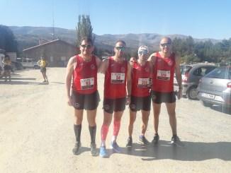 C.D.Navalmaratón participó en la media maratón en Hoyos del Espino