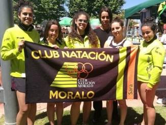 El Club Natación Moralo participó en el XII Trofeo ciudad de Don Benito