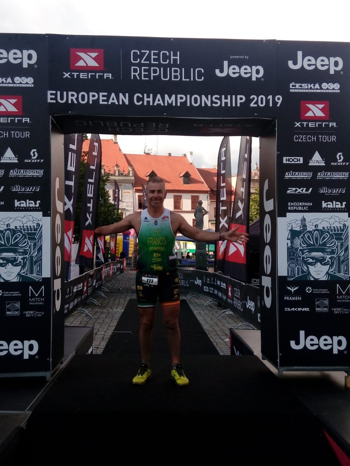 Toni Franco se proclama Campeón de Europa X-TERRA en la República Checa