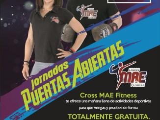 Jornada de puertas abiertas este sábado 11 de enero en Cross MAE Fitness