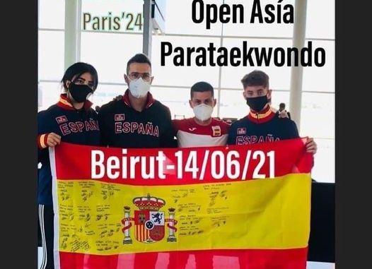 equipo español de Parataekwondo