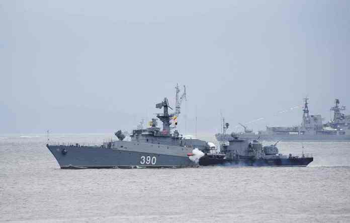 Koreyets small anti-submarine warfare ship