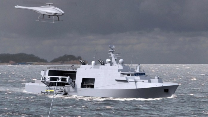 Belgian-Dutch minehunter concept