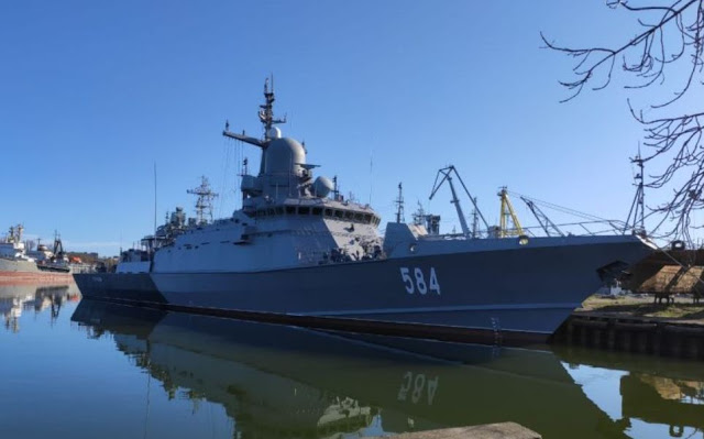 Odintsovo is the first corvette equipped with Pantsir System
