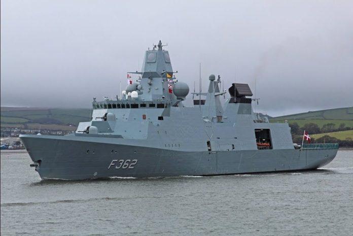 royal danish navy ivar huitfeldt class frigates - naval post- naval news and information