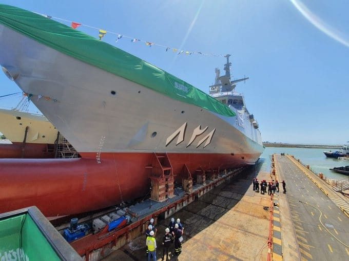 al jubail corvette 3 - naval post- naval news and information