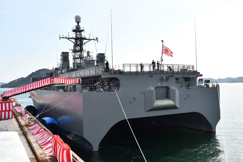 Aki Hibiki Class Ocean Surveillance Ship SURTASS 4 - Naval Post