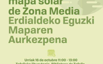 Erdialdeko Eguzki Maparen Aurkezpena / Presentación mapa solar de Zona Media