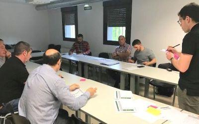 Alcaldías de Zona Media trabajan los factores transversales de competitividad de la comarca
