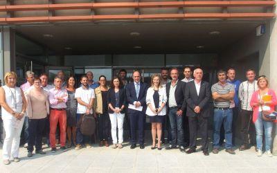 Consorcio de Desarrollo de la Zona Media y AEZMNA presentan el Observatorio Socioeconómico de la Zona Media