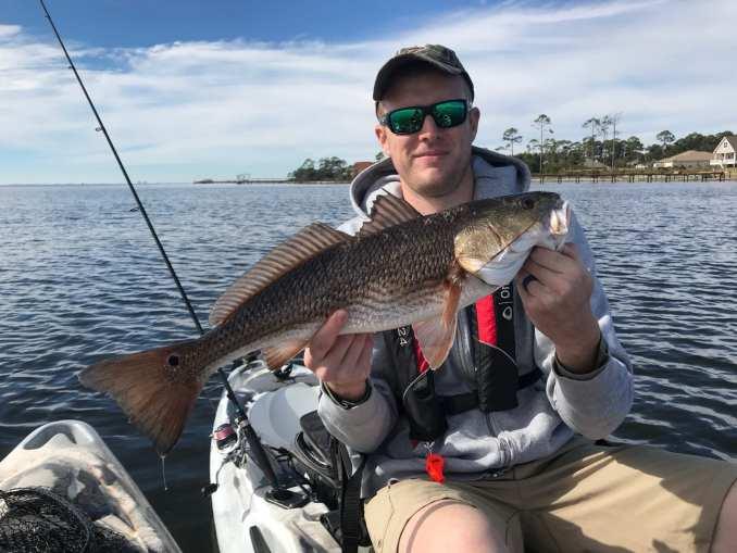 Navarre Kayak Fishing Charters December