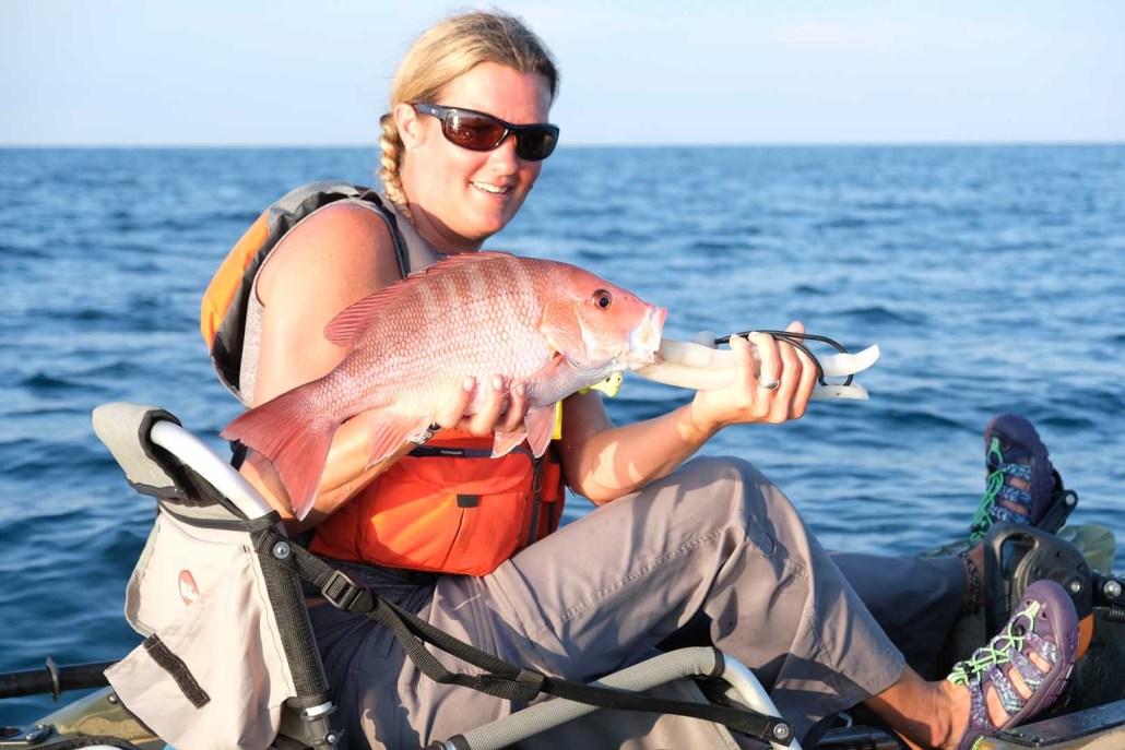 Offshore Kayak Fishing Charters