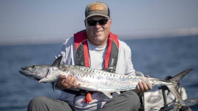 Offshore Kayak Fishing Charters Kayak Fishing for King Mackerel