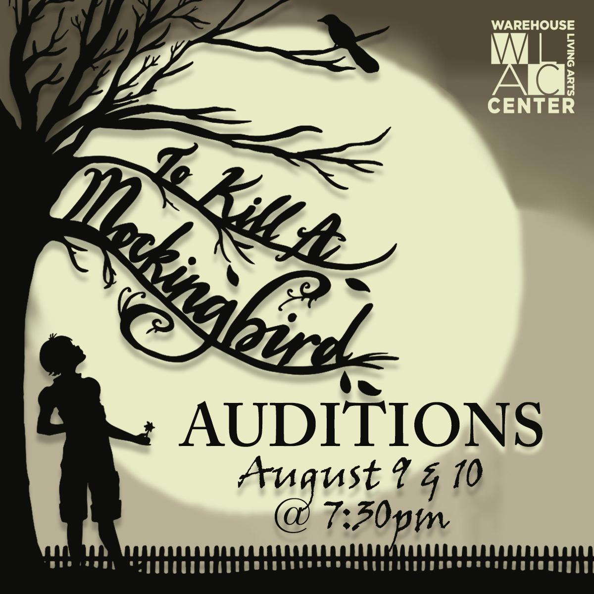 To Kill a Mockingbird Auditions at WLAC