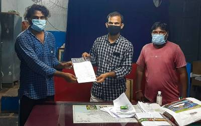 Gave representation to Allot land and Permissions for Buddha Vihar