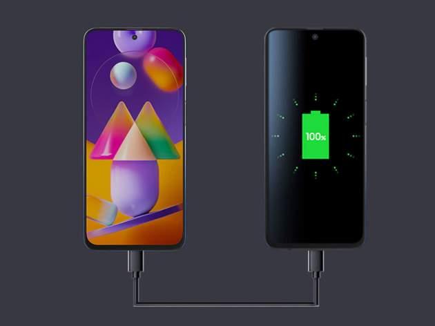 सैमसंग फोन में बड़ी बैटरी