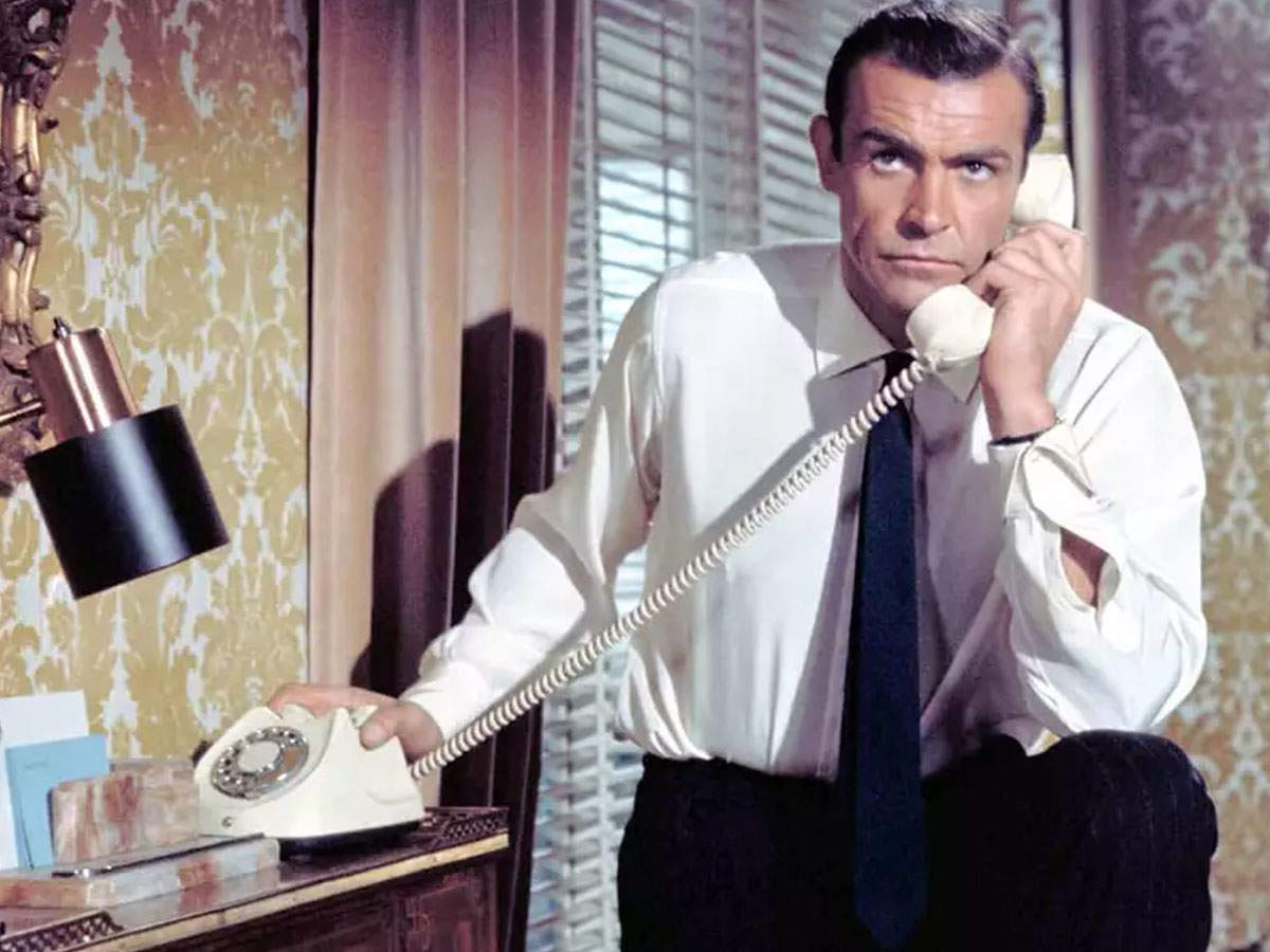 'James Bond' Sean Connery had a different style, see his old pictures