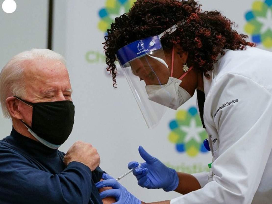 जो बाइडेन ने लाइव टीवी पर लगवाई कोरोना वैक्सीन, लोगों से भी की अपील