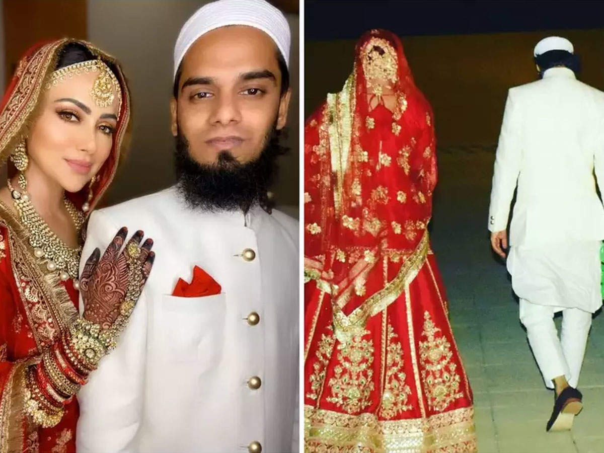 Share photo of Sana Khan's husband Anas Syed, wrote- Beautiful wife is the one who should take her closer to heaven