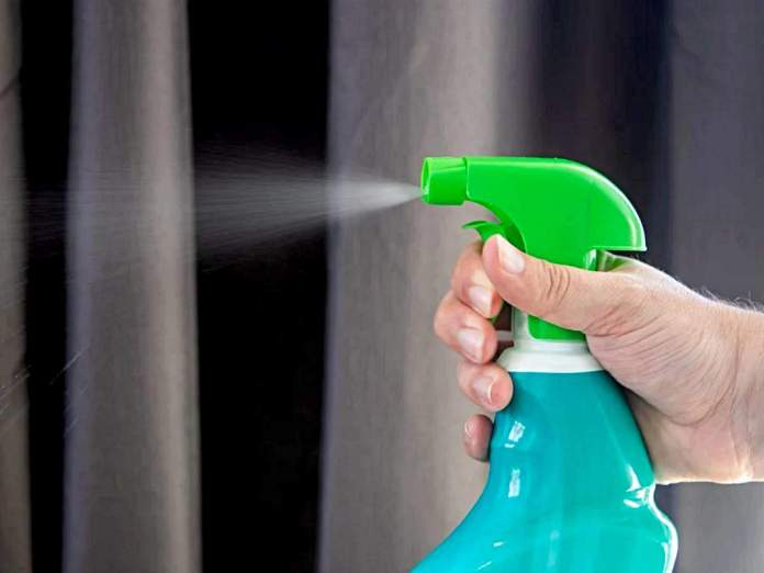 Disinfect your home and goods like this