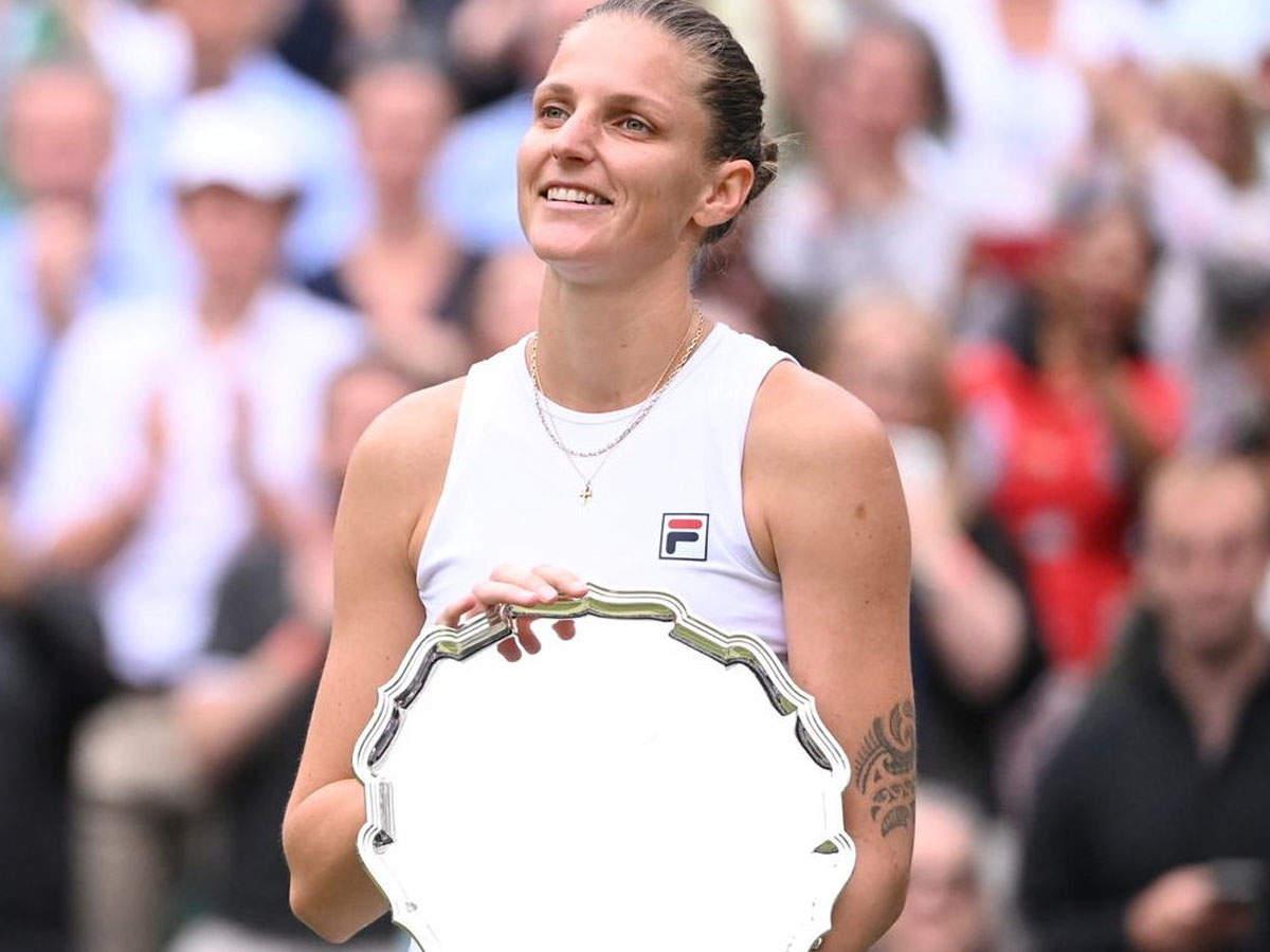 Barty defeats Pliskova in Wimbledon final: Ashley Barty defeats Carolina Pliskova to win her first Wimbledon title;  Le Shelley Barty wins Lee Shelley Barty: Ash Barty defeats Carolina Pliskova to win her first Wimbledon title, the thrill of the match