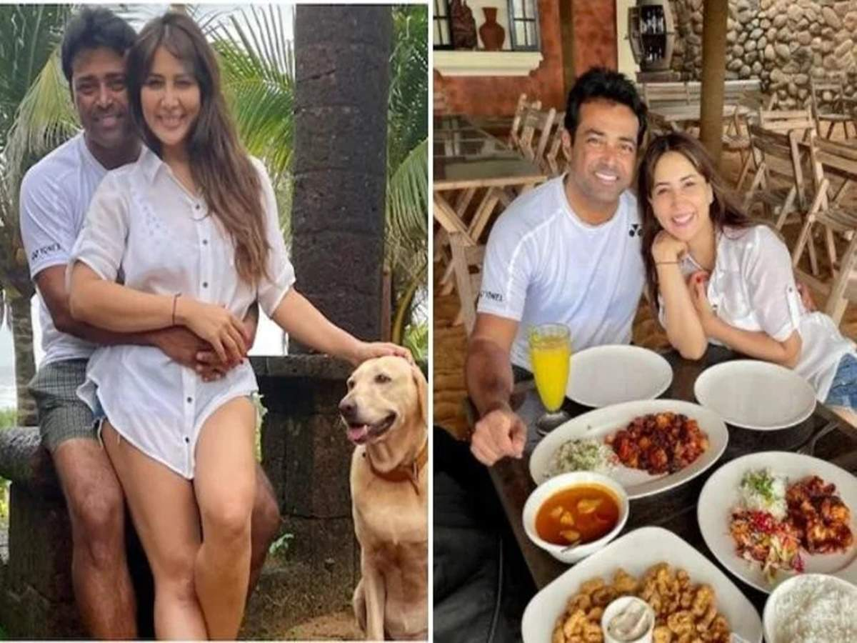 Leander Paes and Kim Sharma: Photos of Leander Paes and Kim Sharma dating in Goa are going viral: Once there was an affair with Yuvraj, now Kim Sharma is dating the great tennis player!