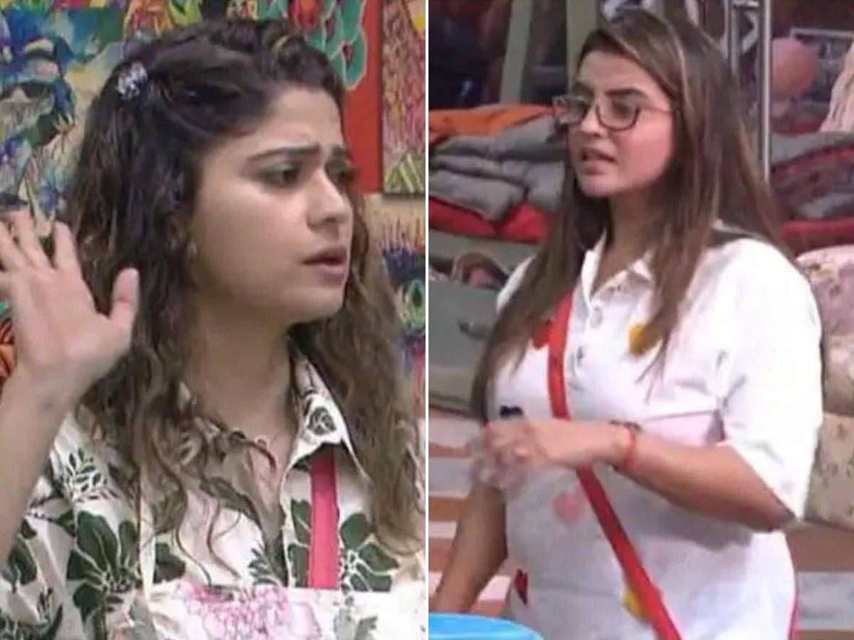 Akshara Singh calls Shamita Shetty Masi: Akshara Singh and Shamita Shetty quarrel: There was a fierce fight between Shamita Shetty and Bhojpuri actress Akshara Singh over cooking.