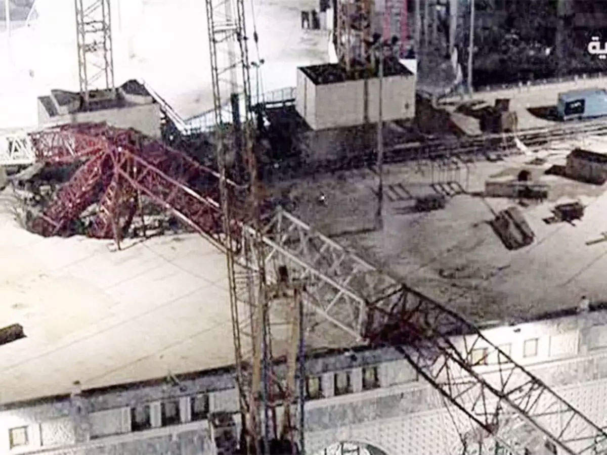 Accident at our embassy: 2 killed after a crane at the US Embassy in New Delhi