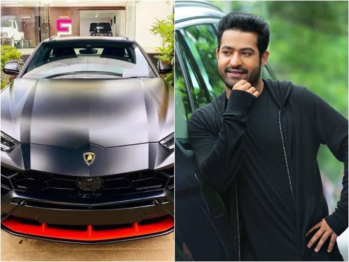 Jr NTR buys Lamborghini Urus Graphite capsule: Actor Jr NTR buys India's first Lamborghini Urus Graphite capsule SUV car worth Rs 4 crore