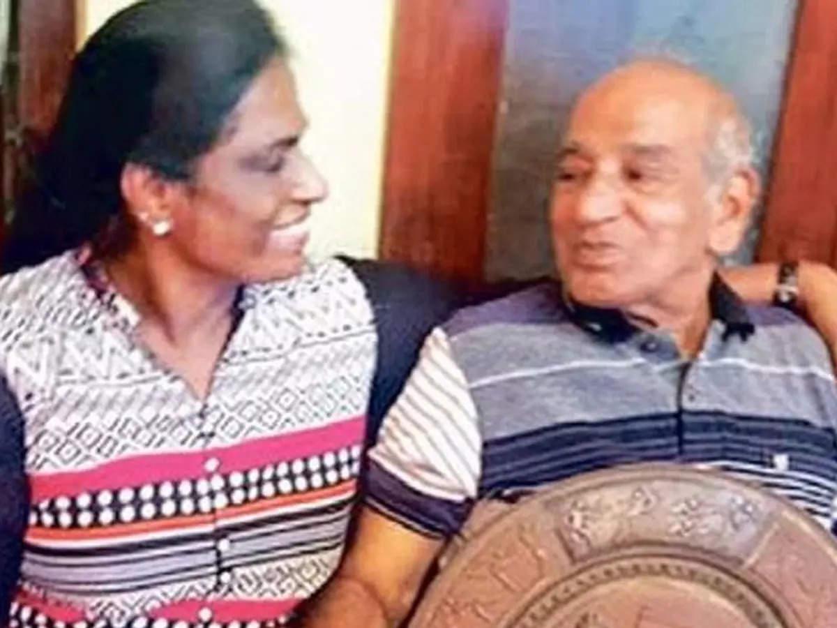 PT Usha coach OM Nambiar passes away: OM Nambiar, who gave PT Usha to India, dies;  Famous coach OM Nambiar, who gave PT Usha to the country, is no more