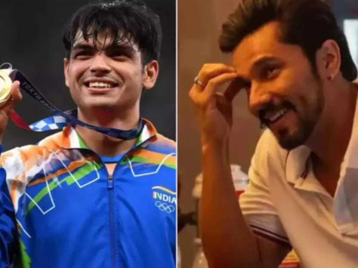 Neeraj Chopra Randeep Hooda: Olympic gold medalist Neeraj Chopra has revealed that he is a big fan of Randeep Hooda actor