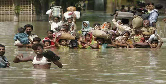 Bihar floods: Bihar Jharkhand According to the weather forecast, if it rains, the flood waters may increase