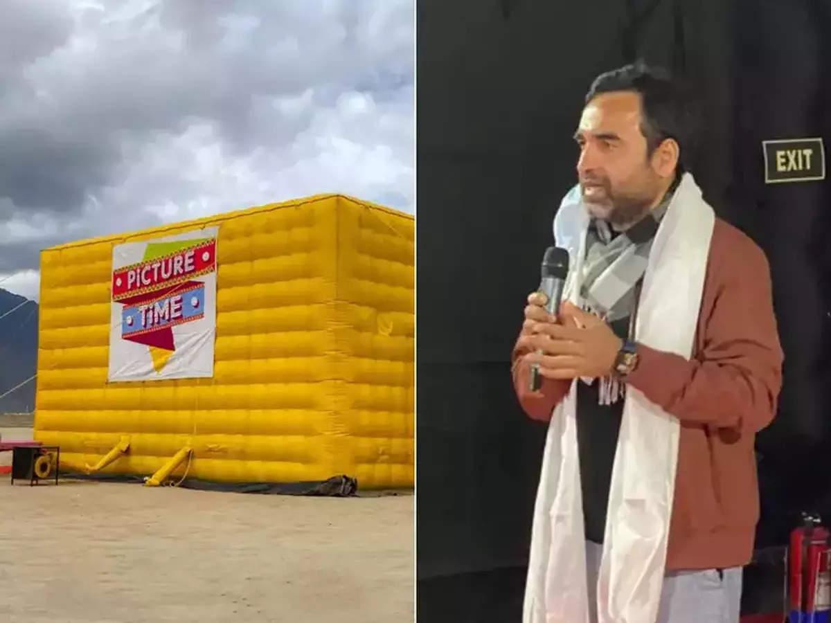 Ladakh moving cinema in Leh