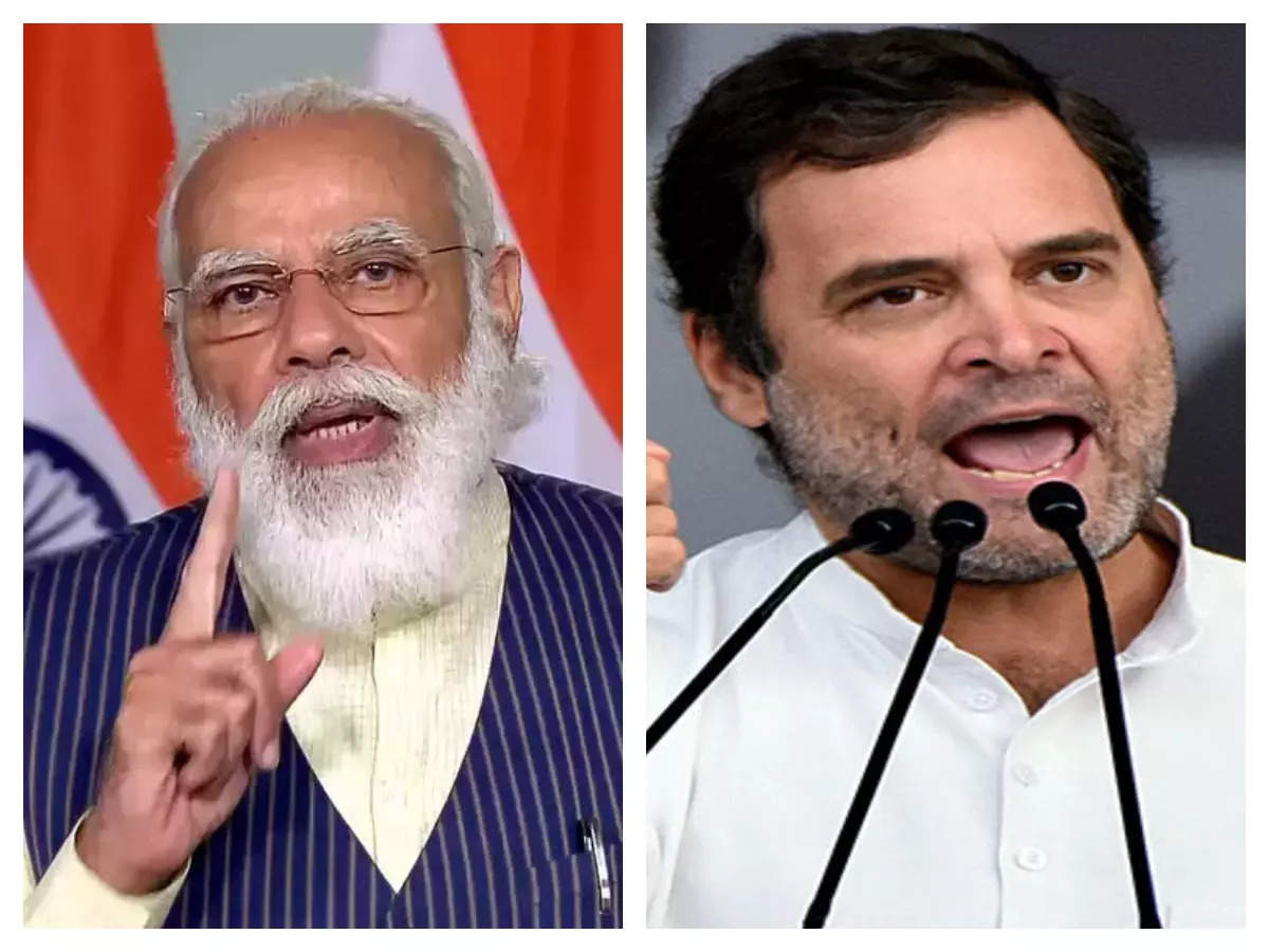 """The Congress joked about Modi in the evening: """"I will not sell the country"""", he said, the country now understands who not to trust, the Modi government is ready to sell the country's wealth built by the people for so many decades.  The Modi government has crossed all limits.  They have now come up with a plan to sell our national assets quickly. The National Monetization Pipeline, which starts today, lists Rs 6,00,000 crore worth of national assets to be sold in the next four years: 'I will not sell the country', Congress lashes out at PM Modi over new plan This decision is anti-national"""