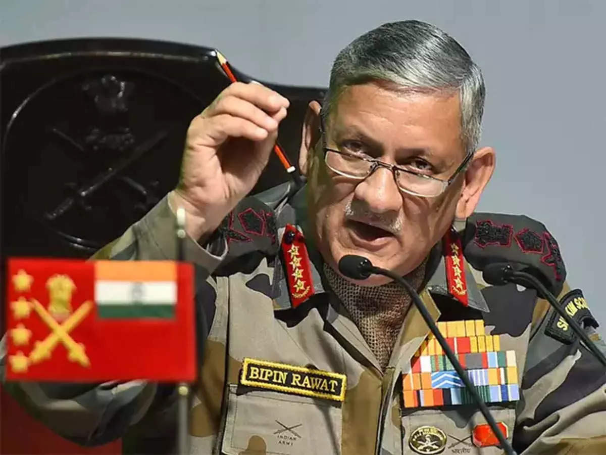 General Bipin Rawat: CDS Bipin Rawat says India's aspiration to become a regional power cannot depend on borrowed strength: 'Advocate