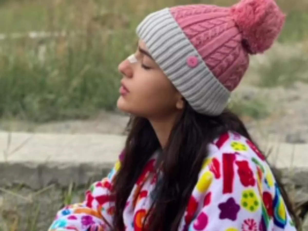 Sara Ali Khan is currently enjoying a holiday in Ladakh, Jannat shared a photo on Instagram