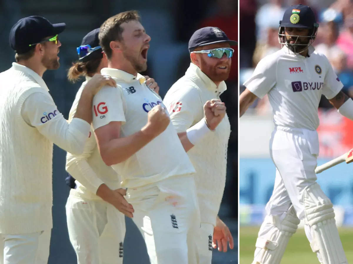 India v England third Test match report and highlights;  England defeated India by an innings and 76 runs;  IND vs ENG Third Test Highlights: Virat and Company meet for 278, England win Headingley Test by an innings and 76 runs, series draw