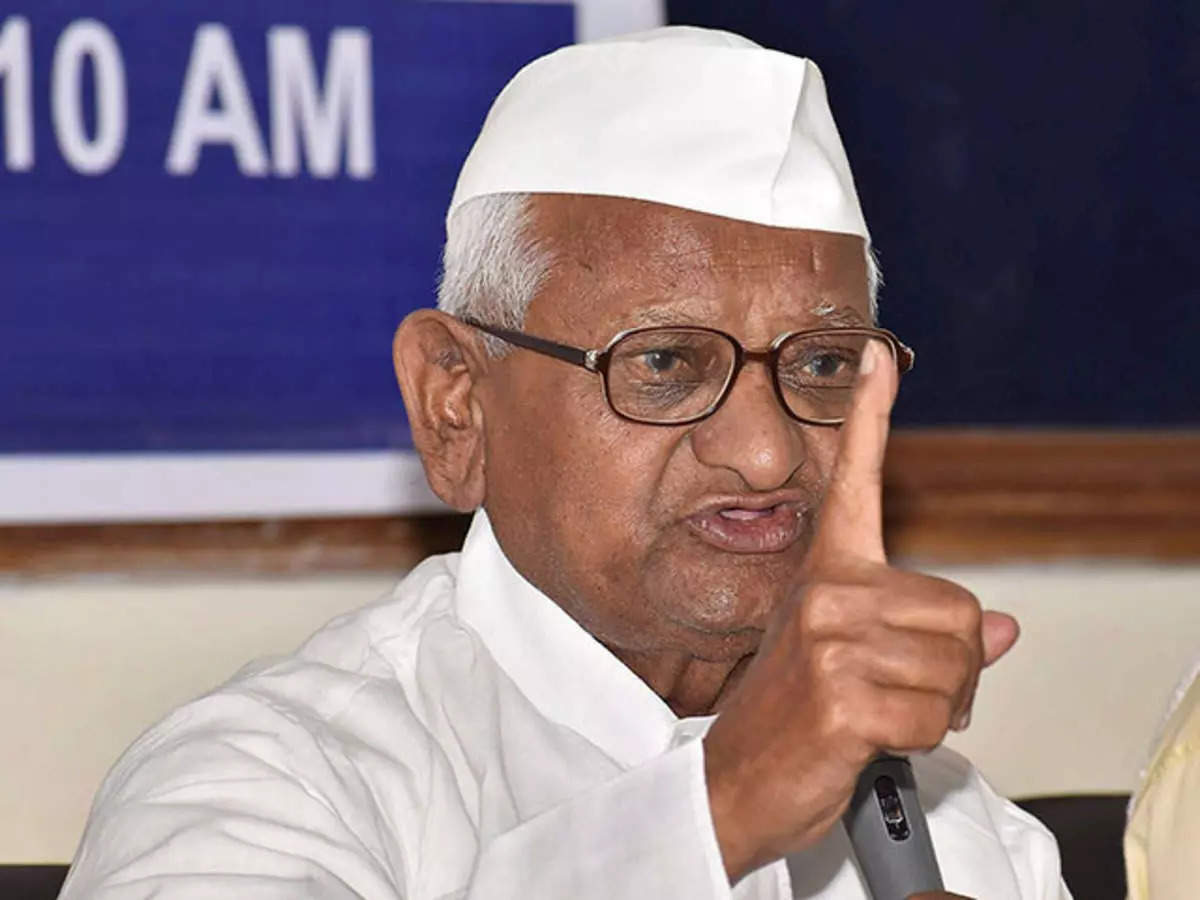 Anna Hazare on temples in Maharashtra: Anna Hazare asked the Uddhav government why temples were not opened in Maharashtra?
